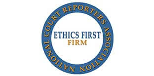 court reporting services maryland ethics first firm